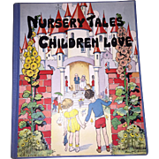 Old Rare Children's Nursury Ryme Book Published by Platt & Munk Illustrated by Eulalie