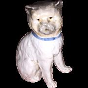 Antique Staffordshire Porcelain Splayed Leg Kitty