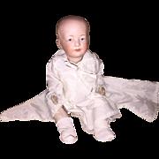 Antique German Heubach Character Baby