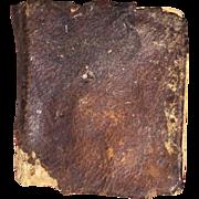 Antique Miniature Leather Bound Bible