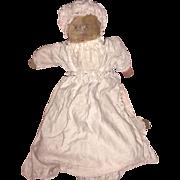 Antique Folk Art Cloth Early Topsy Turvy Doll