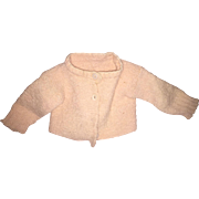 Old Pink Knit Doll or Teddy Bear Sweater