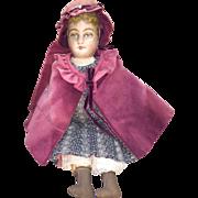 """Antique Bruckner Cloth 13"""" Doll"""