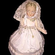 """All Original Lenci """" Lucia""""  Child Doll"""