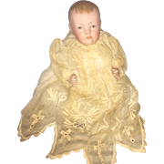 Antique German All Bisque Kestner Character Baby Mold 830