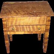 Old Wooden Custom Made Miniature Dollhouse Secretary Desk