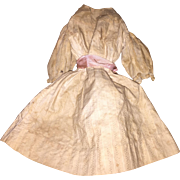 Antique Doll Dress For Cloth or China Doll