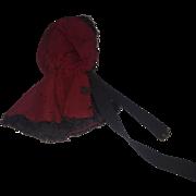 Antique New England Doll Bonnet