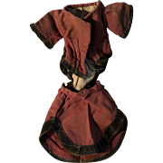 Antique Early 2 Piece Doll Outfit