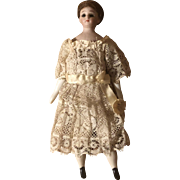 """Antique Simon and Halbig 6"""" 1160 Little Woman Doll"""
