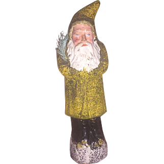 Antique German Father Christmas Paper Mache Belsnickle