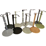 """10 Metal Doll Stands for 15"""" / 16"""" Doll"""
