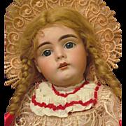 """Kestner 161 Doll Rare to find! Sleep blue eyes, 18 ½"""" in original Kestner body! Layaway!"""