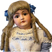 "Sale ~ 26"" Kestner 146 with sleep brown eyes and original body! Layaway. ""Alice in Wonderland!"""