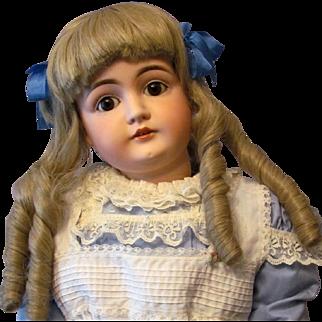 """Sale ~ 26"""" Kestner 146 with sleep brown eyes and original body! Layaway. """"Alice in Wonderland!"""""""