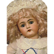 "17"" Antique Handwerck Doll Mold 79 Head made by Simon Halbig Original Handwerck Body and finish. Layaway!"