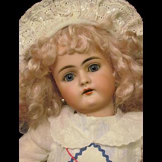 "17"" Antique Handwerck Doll Mold 79 Head made by Simon Halbig Original Handwerck Body and finish. Layaway!"