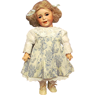 """20""""  SFBJ 236 Laughing Jumeau Toddler Antique French Doll, Just Darling! Layaway!"""