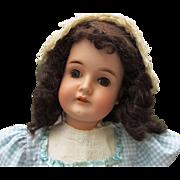 """Darling!  25"""" Karl Hartmann Antique German Bisque Doll"""