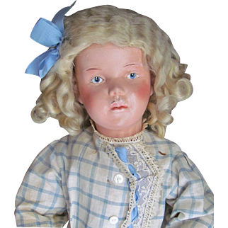 Schoenhut Carved Wooden Character Girl Doll, Model 310 ~ Layaway is Available up to 8 months!