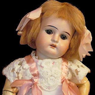 """Little Darling 12"""" Doll by German Firm Edmund Ulrich Steiner"""