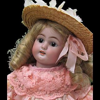 "Sale! ~~Adorable! 15"" Petite Simon & Halbig 1079 Antique German Doll ~~ Layaway~~"