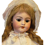 """21"""" Antique German Early Simon Halbig Doll Desirable Mold 1009 ~Great original early Body~ Layaway ~"""