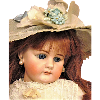 "17 1/2"" German Doll Bahr & Proschild  300 sleep blue eyes, early body  Sonneberg ~Layaway~"