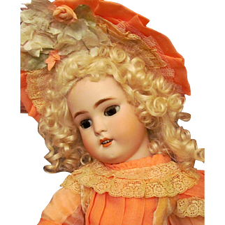 "Darling! 22"" German Doll by Simon & Halbig Mold 1078 for French market! Wonderful condition ~~ Layaway~~"