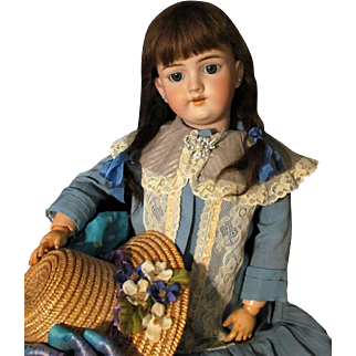"Lovely Classic 27"" Handwerck Doll Mold 119 ~Steel blue sleep eyes~~ Layaway~~"