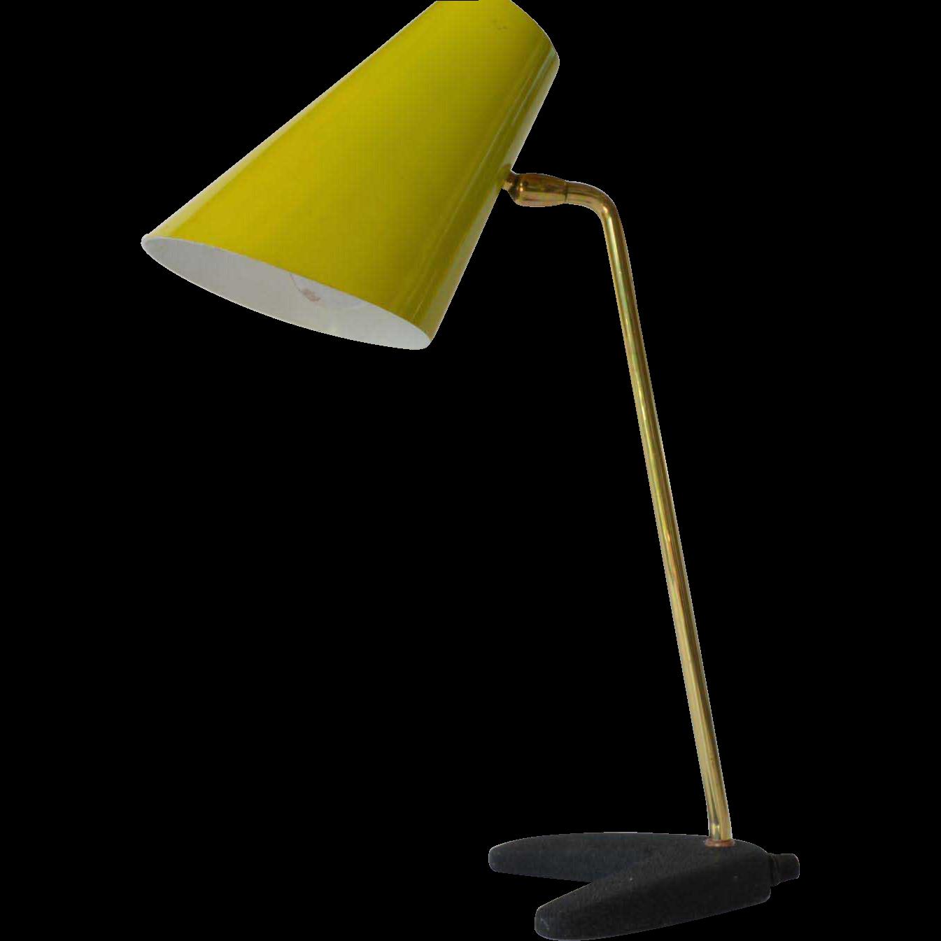 retro 1980c metal desk lamp from caraghantiques on ruby lane. Black Bedroom Furniture Sets. Home Design Ideas