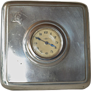 Art Deco era travel timepiece, made by Kienzle, Schwenningen, Germany, 1920-1940.