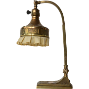 A brass table lamp,early vintage,  1930c.