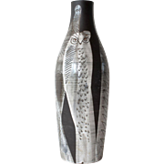 A Gustav Spörri, Swiss,  signed ceramic vase, 1961.