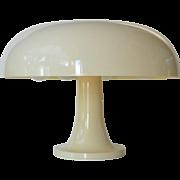 """An Italian vintage Artemide """" Nessino"""" mushroom lamp."""