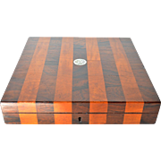 An early vintage wooden box, 1930-1940.