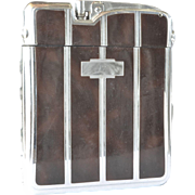 A vintage Ronson ' Ten-a-Case' combination cigarette lighter/case- 1940s to 1950s.