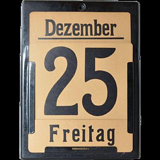 Soennecken,  ewiger ( perpetual ) ,early vintage calendar, 1940c.