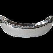 A silver (800 standard) dish, Italian, 1930c.
