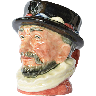 Vintage Royal Doulton Beefeater toby jug.