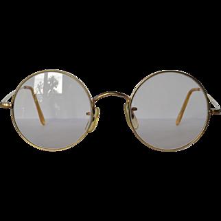 "Vintage gold filled ""Algha 20"" spectacles."
