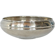 Vintage Christian Dior silver plated bowl, 20th century.
