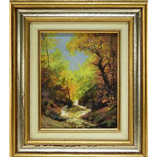 Impressionist Landscape – Woodhull Adams