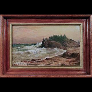 1908 Coastal Maine Landscape – Seth W. Steward