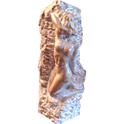 Marble Carving of a Nude Woman – Frank Schirmen