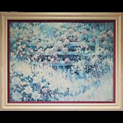 Elizabeth Horning Garden Landscape Painting