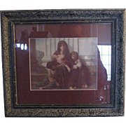 The Indigent Family   By William Adolphe Bougureau