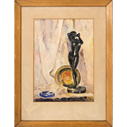 American Watercolor, 20th Century by Eleanor J. Wright