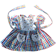 Marquita Perez 1940's-50's tagged doll dress