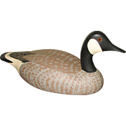 Carved and Painted Canada Goose